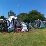 Camping w Amsterdamie